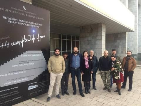 Hamazkayin Sos Sargsyan State Theater's Guest Performances in Artsakh