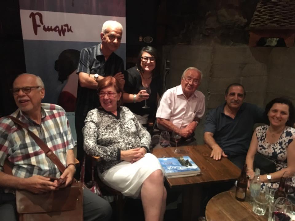 «Բագին» գրական հանդէսին 55-ամեակին նուիրուած երեկոյ Երեւանի մէջ
