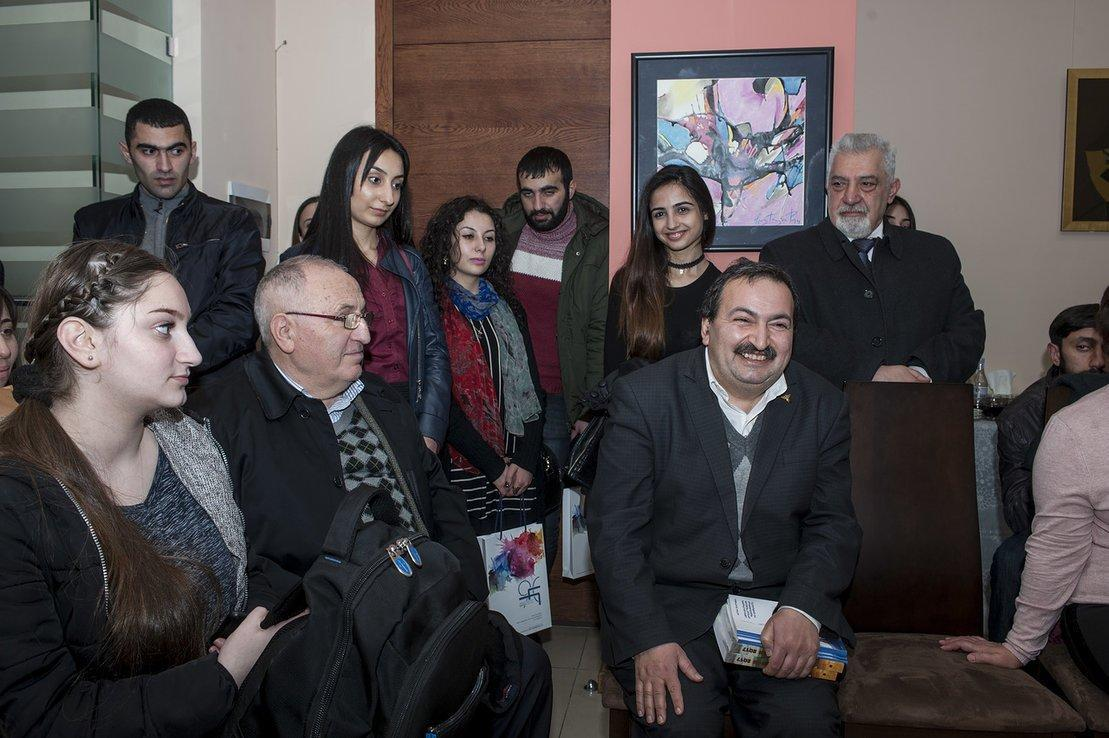 A Meeting Dedicated to the Book Day at the Hamazkayin Armenia Office