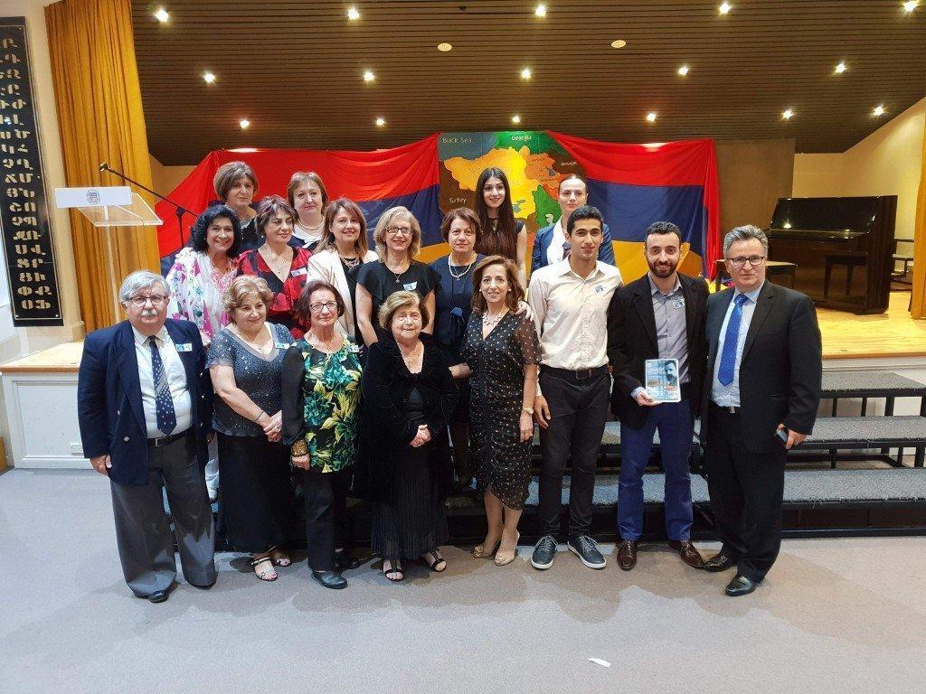 TRIBUTE: Celebration of Honor Dedicated to Avedis Aharonian (Australia)