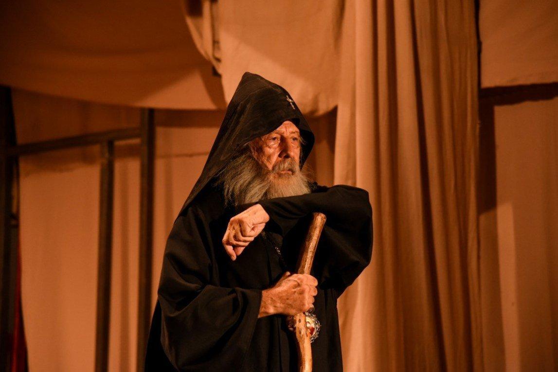Khrimian Hayrig Mono Drama on Artsakh Stage