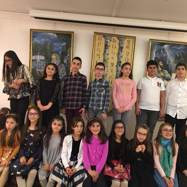 Parisian Young Armenians Showcase Talents