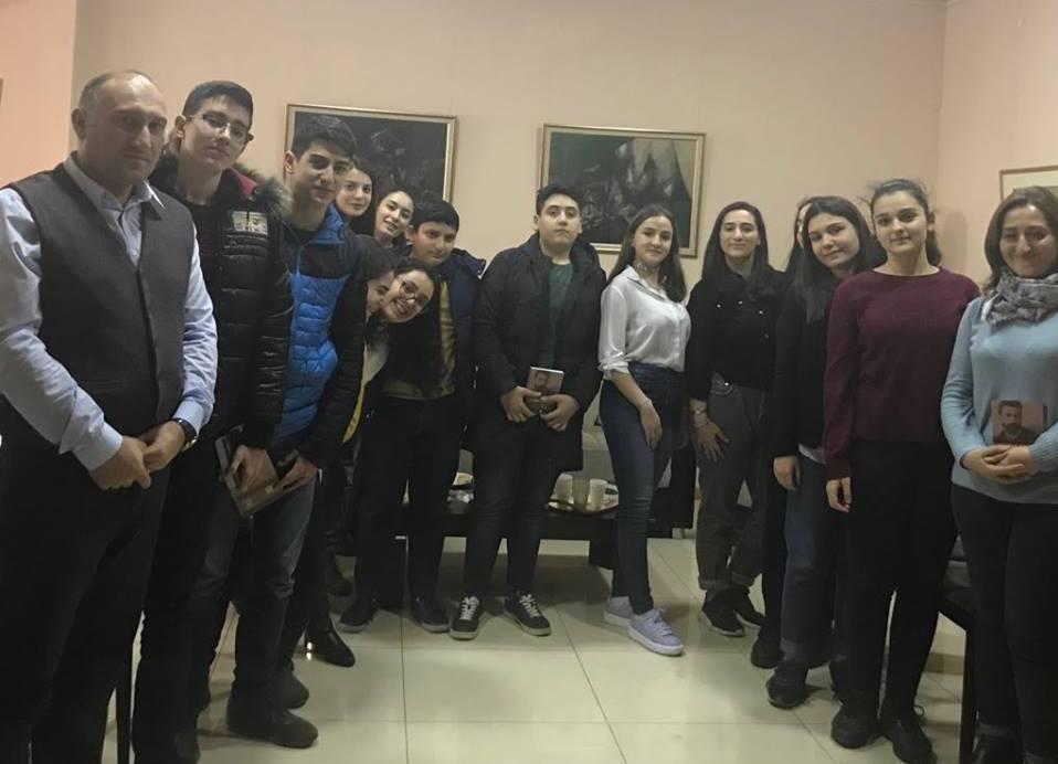 Student Forum Marks 150th Birthdays of Levon Shant and Hovhannes Tumanyan