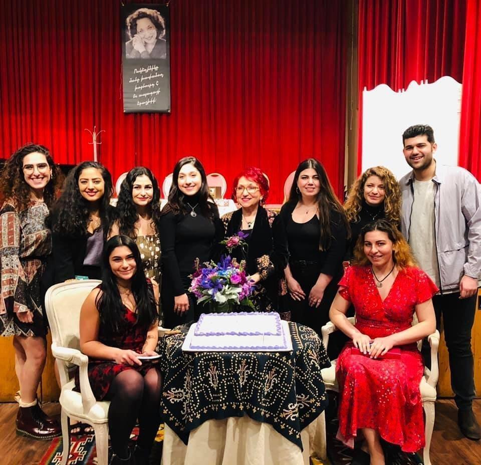 Poet Vehanoush Tekian Honored in San Francisco