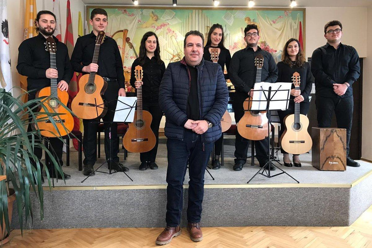 "Guitar Ensemble Travels to Armenia for ""Rebirth"""