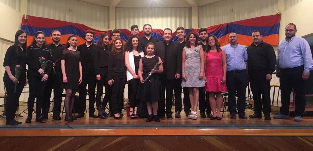 """Davigh"" Instrumental Ensemble Holds Beirut Concert"