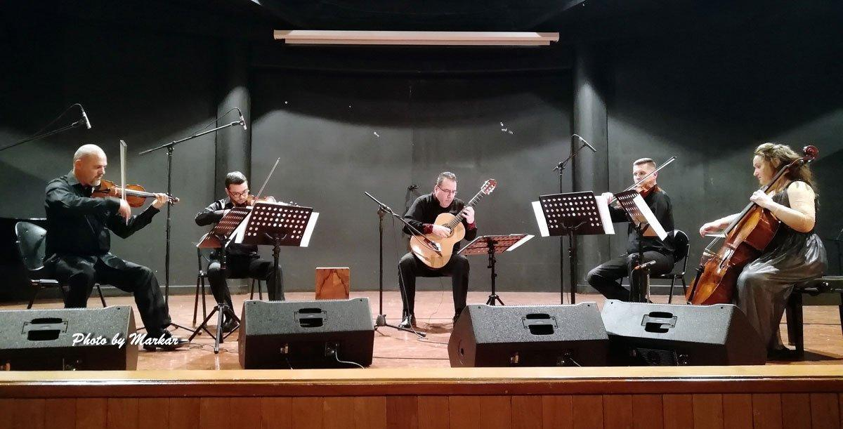 Nran Tsayne String Quintet Performs in Lebanon