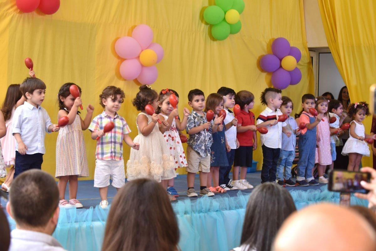 Hamazkayin Raffi and Anelga Arslanian Nursery School in Lebanon Delivers First Harvest
