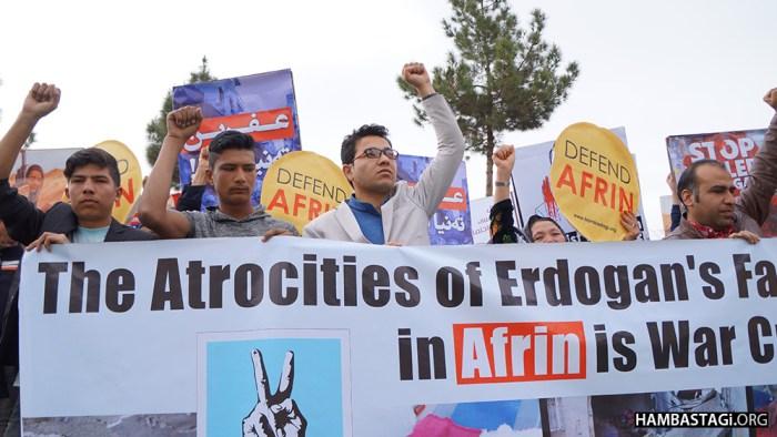 Hambastagi Joined World Afrin Day