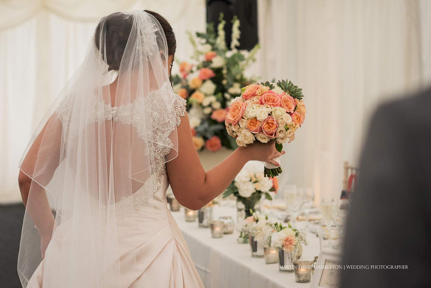 bride and bridal bouquet