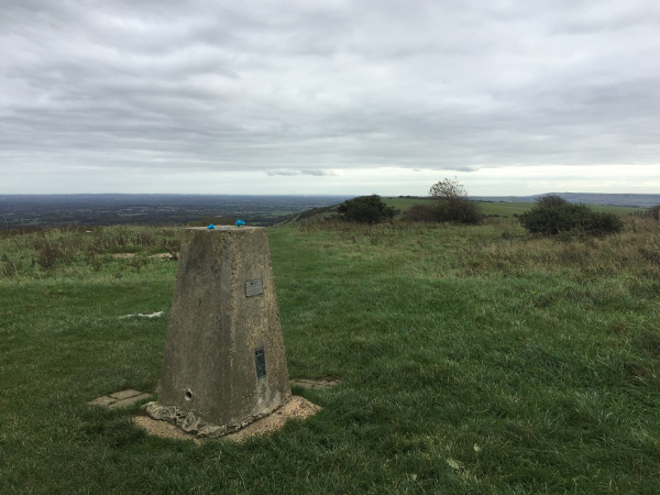 The Ditchling Beacon Trigpoint