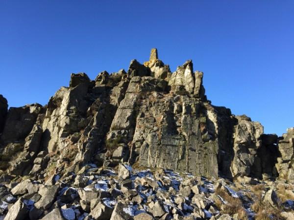 Stiperstones summit & Trigpoint