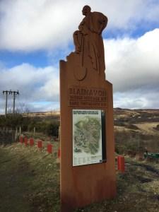 Blaenavon World Heritage Site Sign
