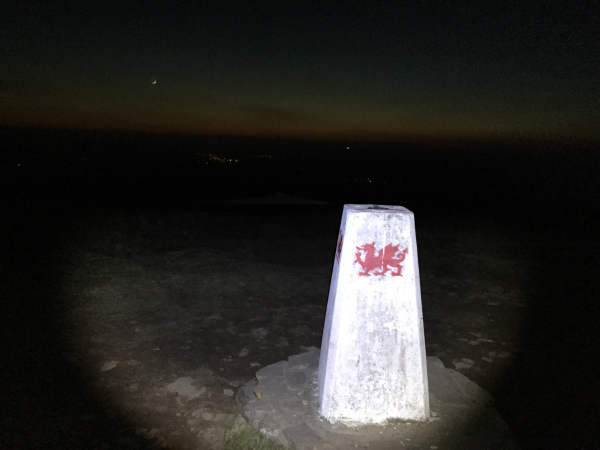 Leaving the trigpoint in the dark
