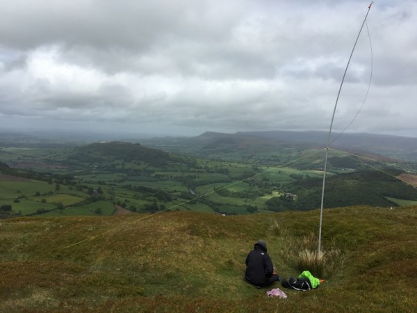 Operating from Tor Y Foel