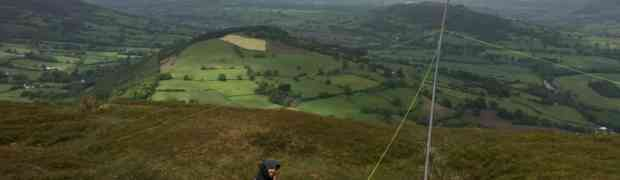 SOTA Activation of Tor y Foel (GW/SW-013)