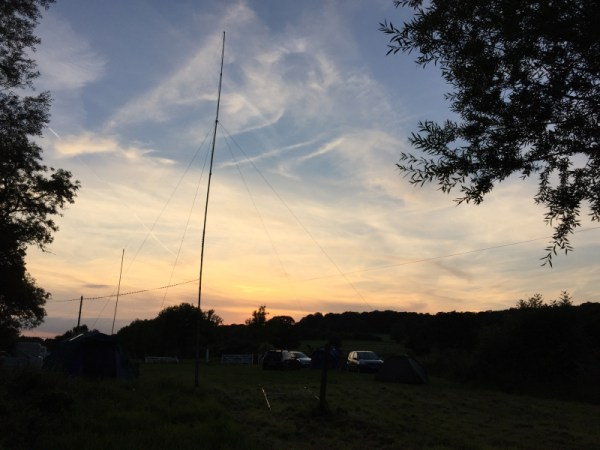 Antenna at Sunset