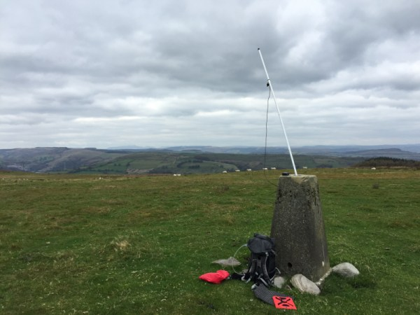 WAB Trigpoint TP5050 Also Acts as a Useful Antenna Support