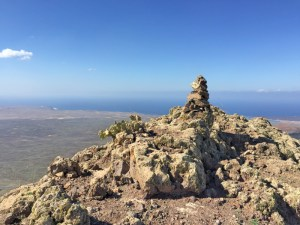 The Summit Cairn at Pico Redondo