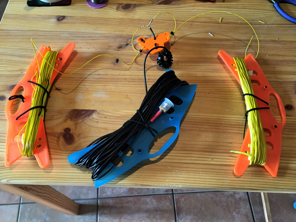 My Linked Dipole Setup for Portable Use