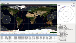 Tracking Satellites in Real Time