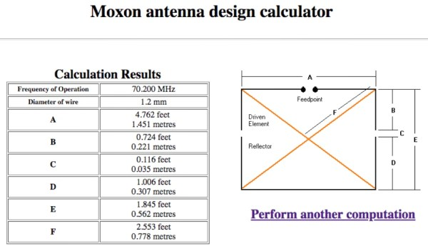 The dimensions for my 4m Moxon