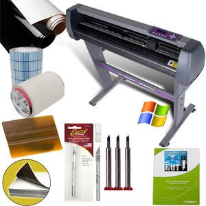 uscutter 28 inch vinyl cutter value sign making bundle is doubtlessly the best value cutter that any beginner can find on the market today - Best Vinyl Cutter