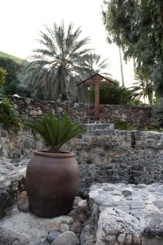 Источник на территории монастыря