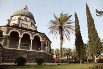 Францисканский монастырь на горе Блаженств