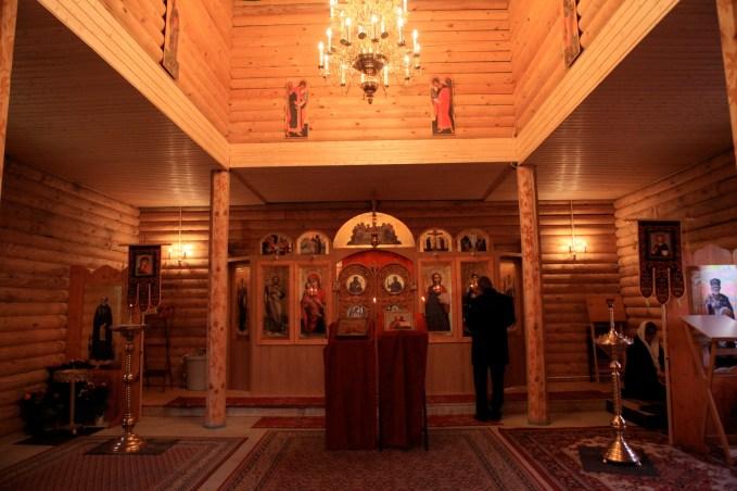 Внутреннее убранство храма в Шверине