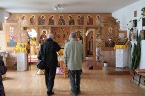 В храме св. прав. Иоанна Кронштадтского в ПГУ