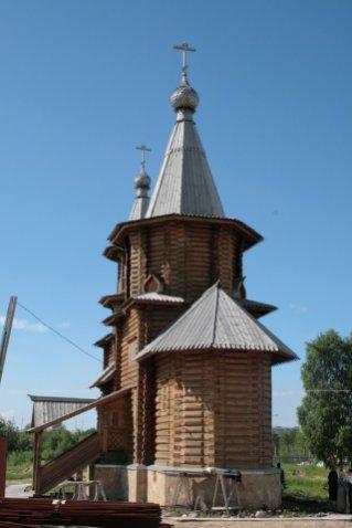 храм св. Александра Невского в Архангельске