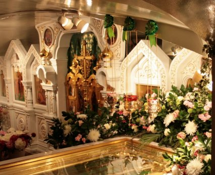 Свято-Иоанновский монастырь. Гробница св. прав. Иоанна Кронштадтского