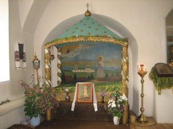 В храме св. прав. Артемия Веркольского
