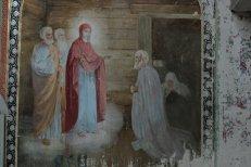 Фрески в Успенском храме в Артемие-Веркольском монастыре