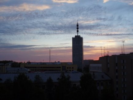 Архангельск ночью