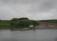 Переправа через Пинегу по пути в Суру