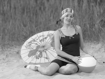 Strandspaß der 20er