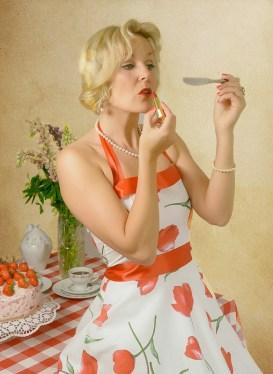 Die perfekte Hausfrau der 50er