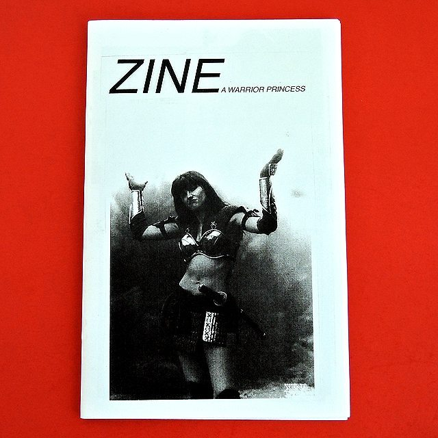 """Zine A Warrior Princess"" by @grilledchemane out now zinekong.com"