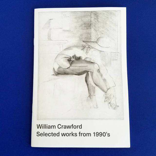 """Selected Works from 1990s"" by William Crawford published by @innen_books, These drawings were found in an abandoned house in Oakland! Get this today zinekong.com"