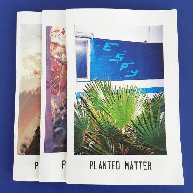 PLANTED MATTER, 3 issues by @hashdriveway and @bosskie and friends out now