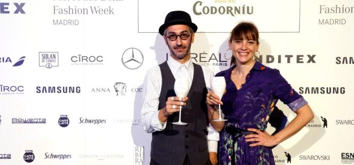 Nuestras influencers con Anna de Codorniu en la MBFW