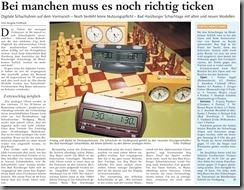 2012-11-03 - Goslarsche Zeitung - Bad Harzburger Schachtage
