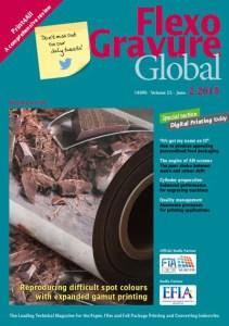 Flexo Gravure Global Screening technology for expanded colour gamut printing
