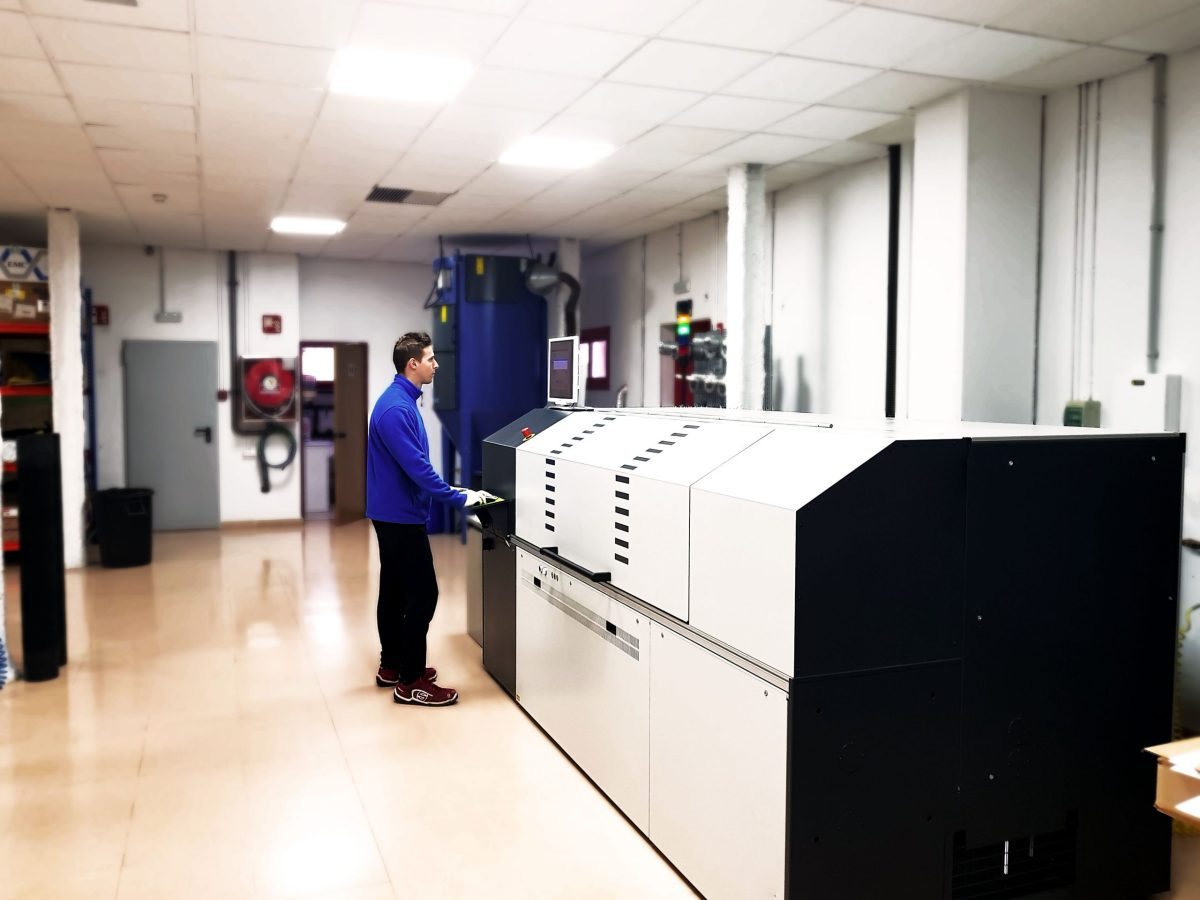 Bellissima HD Flexo screening print with FGS Spain 10
