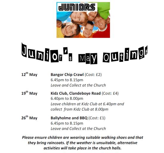 Juniors May Outings