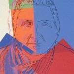 Ten Portraits of Jews of the Twentieth Century - Gertrude Stein [II.227], 1980