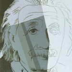 Ten Portraits of Jews of the Twentieth Century - Albert Einstein [II.229], 1980