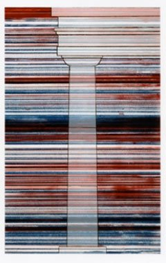 Ed-Ruscha-Column-With-Speed-Lines